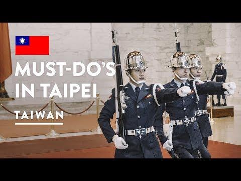 TAIWAN MUST DO - TAIPEI 101 & CHIANG KAI SHEK MEMORIAL HALL | Travel Vlog 114, 2018 | Taiwan