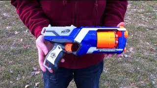 nerf n strike elite strongarm range test stock