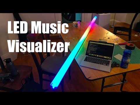 Making an LED Strip Music Visualizer