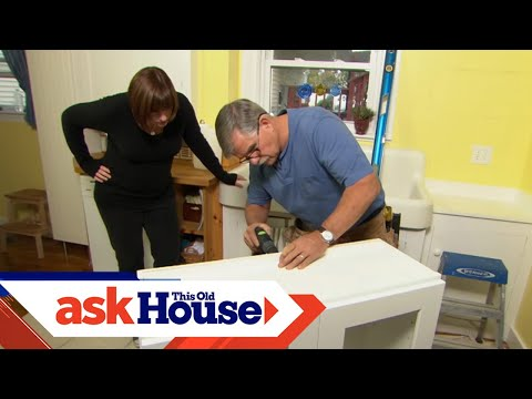 How To Hang A Kitchen Wall Cabinet YouTube