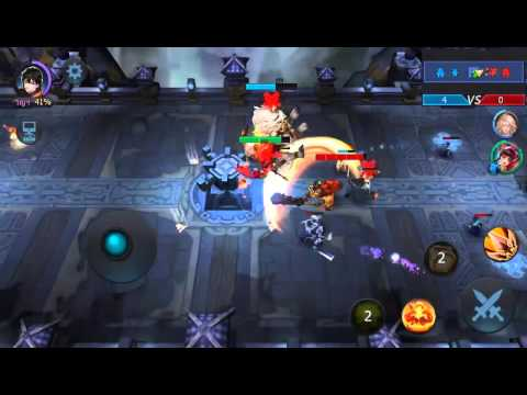 [Gameplay]Line Battle Heroes
