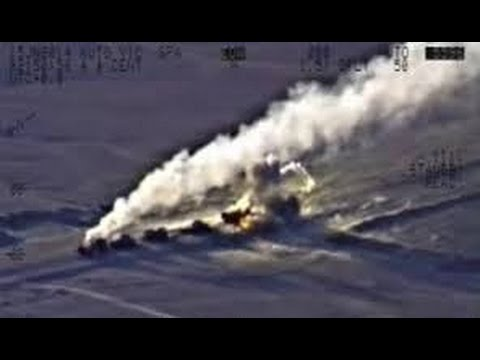 LATEST ISIS CONVOY DESTROYED JOINTLY BY Russia ,Syria ,Iran ,Iraq, FRESH VIDEO