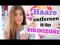 BIKINIZONE ENTHAAREN! ♡ Methoden, Tipps, Erfahrungen! BarbieLovesLipsticks