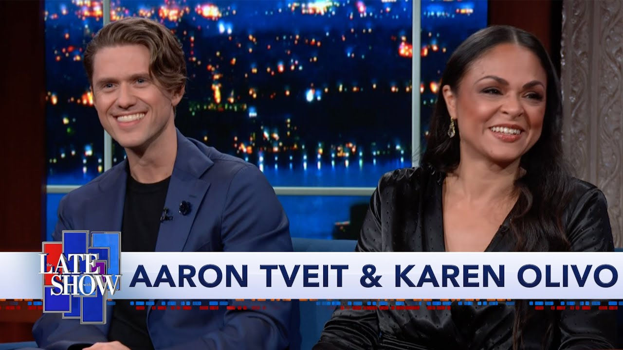 Karen Olivo & Aaron Tveit Preview 'Moulin Rouge! The Musical.' image