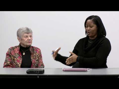 Student Interns Interview Holocaust Survivors: Ethel Katz and Ivorine Johnson