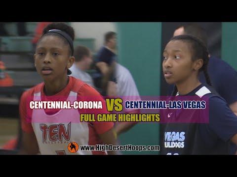 Centennial Corona vs Centennial LV   Girls   10/15/17