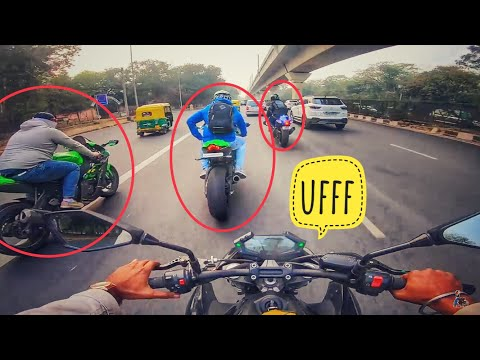 Its difficult to ride SUPERBIKES in Traffic 😈 !!