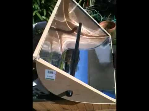 Parabolic Trough Solar Collector Youtube
