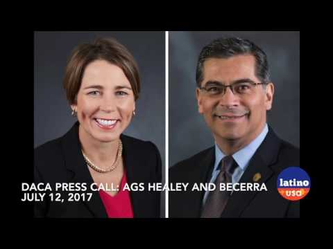Attorneys General Xavier Becerra and Maura Healey Reaffirm Support for DACA