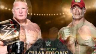 WWE - JHon Cena Vs Brock Lesnar - Night Of Champions