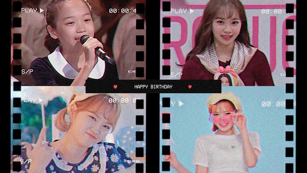 채원이의 21번째 생일을 축하해, Happy Chaewon Day !