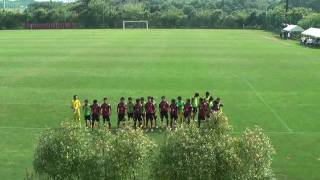 札幌U-15@クラセン2010 鹿島アントラーズ戦