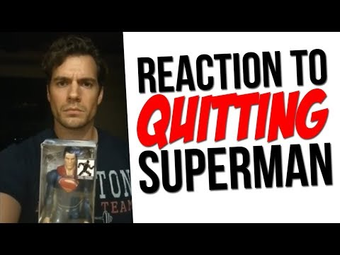 """Henry Cavill REACTION to QUITTING SUPERMAN! """"DCU is a Total Mess"""" Batman Quit? Supergirl Movie?!"""