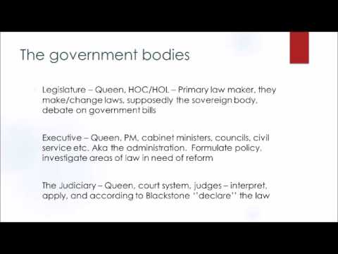 Separation of Powers - Part 1 - Brief Introduction