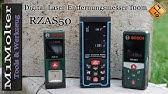 Makita Entfernungsmesser Opinie : Bosch laser entfernungsmesser plr 40 c youtube