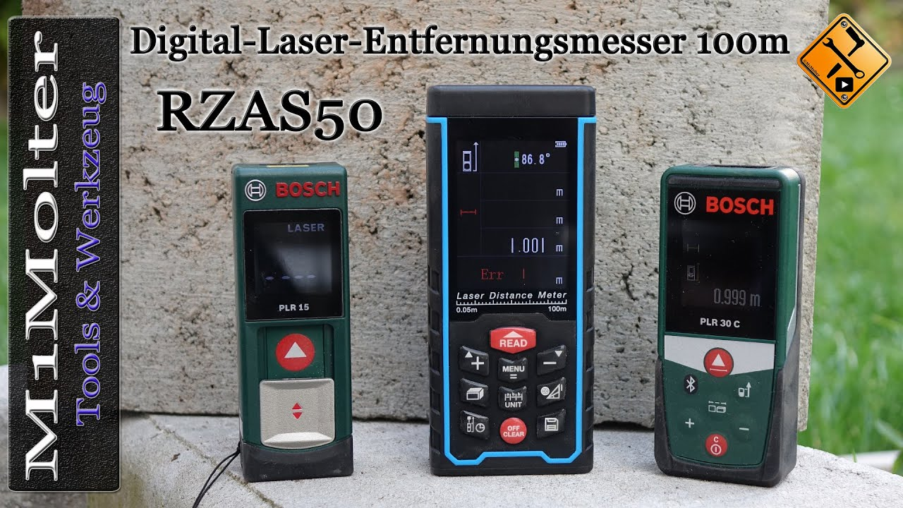 Rzas50 digital laser entfernungsmesser 100m vorstellung und