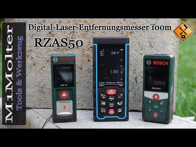 Bosch Diy Digitaler Laser Entfernungsmesser Plr 30 C : Rzas digital laser entfernungsmesser m vorstellung und