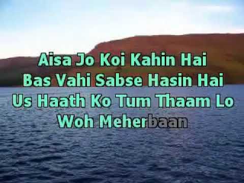 Kal Ho Naa Ho Kal Ho Naa Ho Karaoke With Lyrics m4v