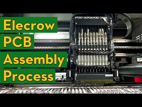 PCB Assembly Process By Elecrow