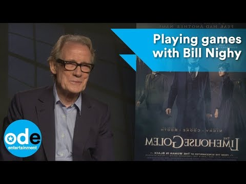 Bill Nighy talks fashion and plays fact or fiction
