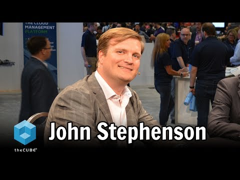 John Stephenson, Amazon - AWS Public Sector Summit 2017