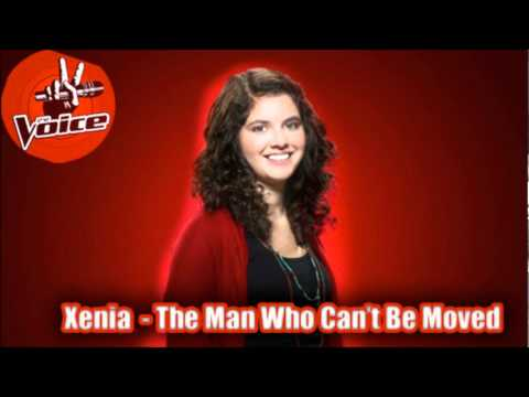 Xenia  The Man Who Can't Be Moved Studio Recording The Voice