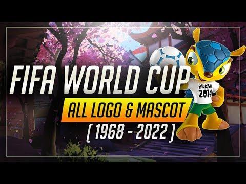 Fifa World Cup Mascot And Logo ( 1968 - 2022 ) [HD]