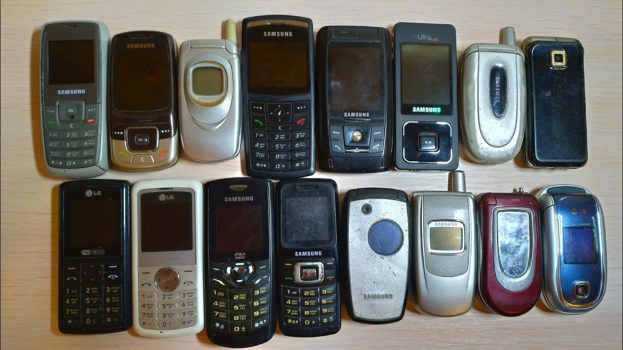 All My Old Samsung And Lg Phones Collection Youtube