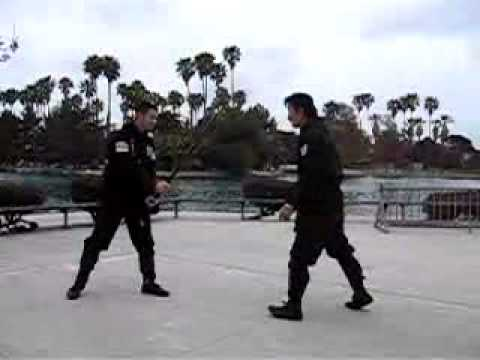 Chosun Ninja - Ninja Sword Trick Strikes - Part 2