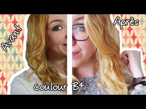 test live dmaquillant pour les cheveux colour b4 - Color Out Cheveux Noir