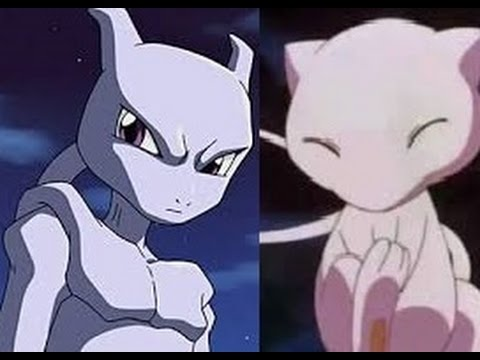 Pokemon: Mewtwo Vs Mew- Battle of the Strongest - YouTube