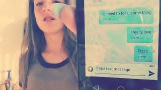 Texting my crush!!!