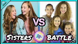 Haschak Sisters VS Mackenzie Ziegler & Maddie Ziegler Musical.ly Battle | Top Sisters Musically 2017