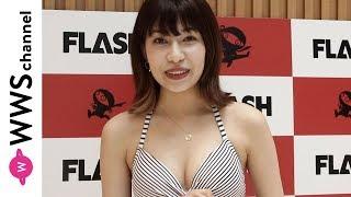 6月15日、都内でアーティストハウス・ピラミッド所属の岩本瑠美菜がミス...