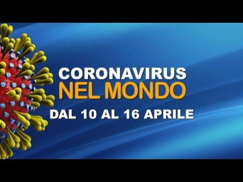 Il coronavirus nel mondo dal 10 al 16 aprile