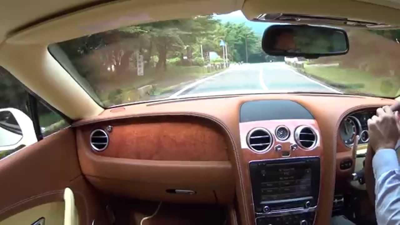 試乗 ベントレー・コンチネンタルgt V8sコンバーチブル&フライングスパーv8 Youtube