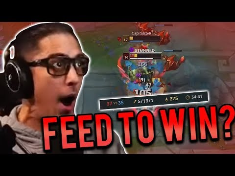 DYR TOP VS RENGAR | FEED TO VICTORY... KDA DOES NOT WIN GAMES! - Trick2G