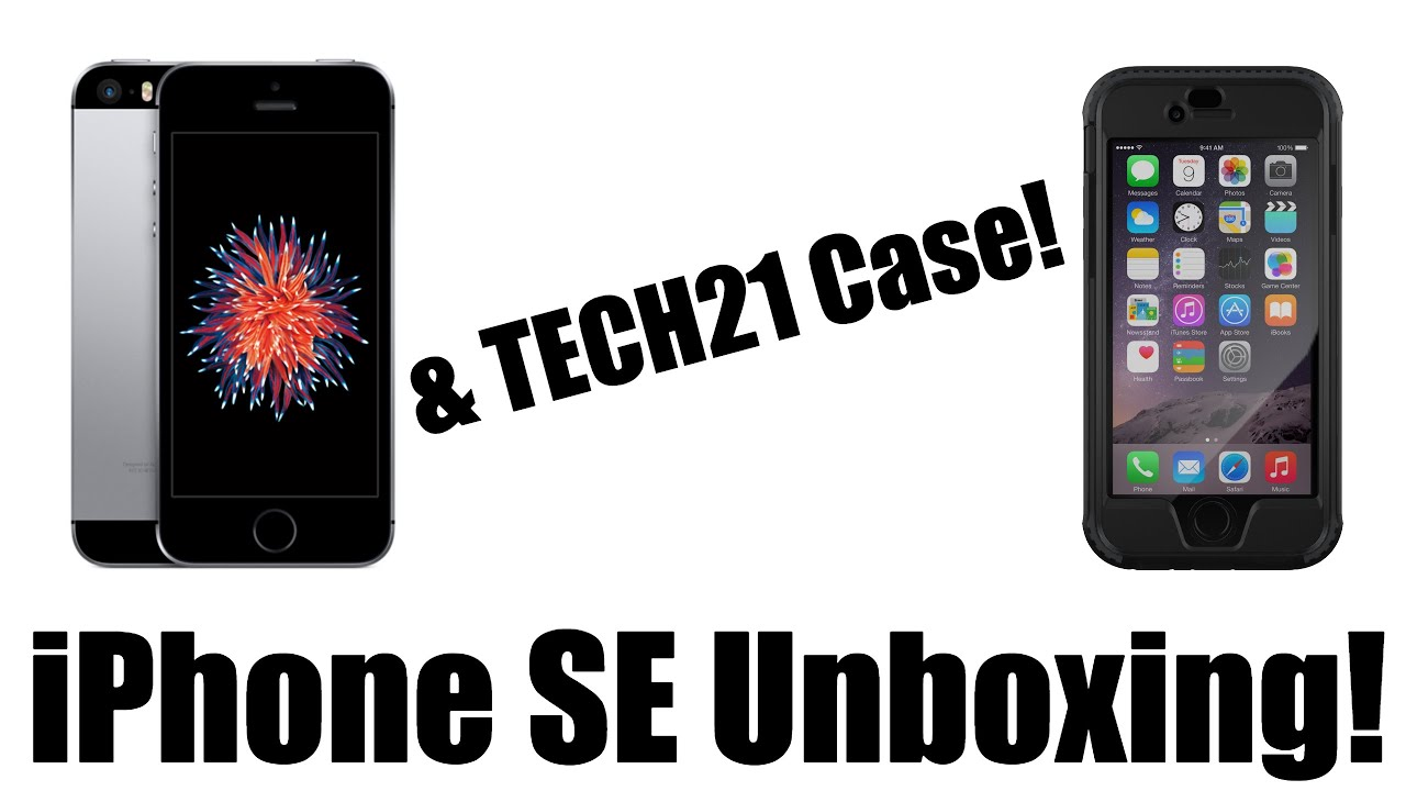 best loved b7d28 66fa4 iPhone SE Unboxing! | Tech21 Evo Patriot Case Review! | BEST CASE EVER?