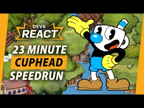 Cuphead Developers React to 23 Minute Speedrun