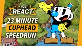 Cuphead Developers React to 23 Minute Speedrun