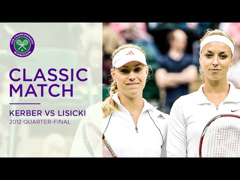 Sabine Lisicki Vs Angelique Kerber | 2012 Wimbledon Quarter-final Replayed