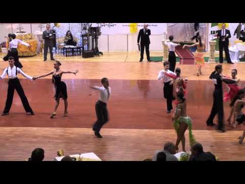 MIKE & ROXY - FLOWER DANCE CUP 2011 - JUNIOR II OPEN LATIN - QUARTER FINAL 1