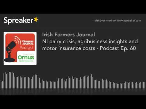 NI dairy crisis, agribusiness insights and motor insurance c