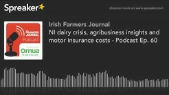 NI dairy crisis, agribusiness insights and motor insurance costs - Podcast Ep. 60