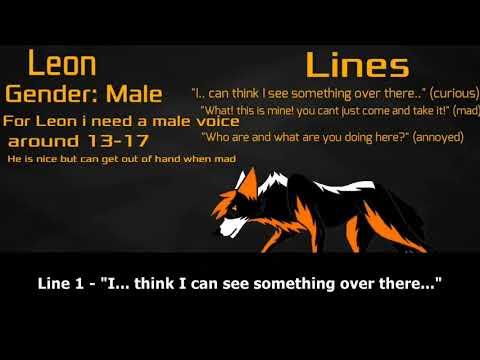 Casting Call Response - CanadianLolWolf 22 series (Jet, Leon)
