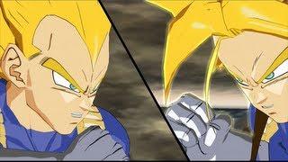 Super Vegeta vs Super Trunks: DBZ Burst Limit【1080p HD】
