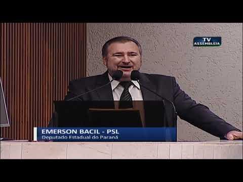 Deputado Emerson Bacil - Sessão Plenária 25 06 2019