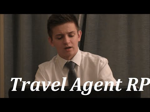 ASMR Travel Agent Role-Play (Gamer Edition)