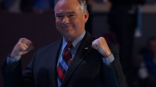 Kaine: Humbly Accepts Dem. Nomination for VP