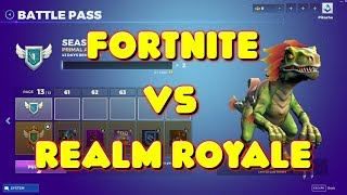 FORTNITE SEASON 1 BATTLE PASS IN REALM ROYALE